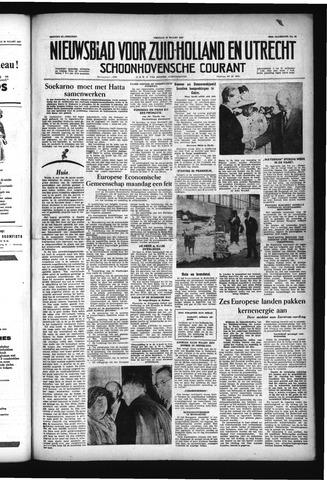 Schoonhovensche Courant 1957-03-22