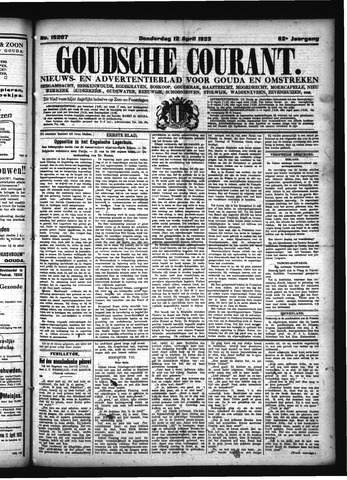 Goudsche Courant 1923-04-12