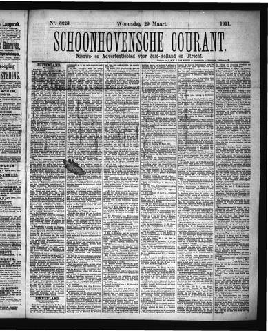 Schoonhovensche Courant 1911-03-29