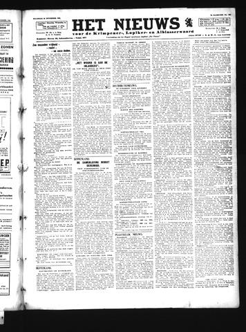 Schoonhovensche Courant 1945-11-26