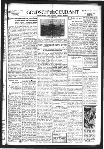 Goudsche Courant 1944-03-23
