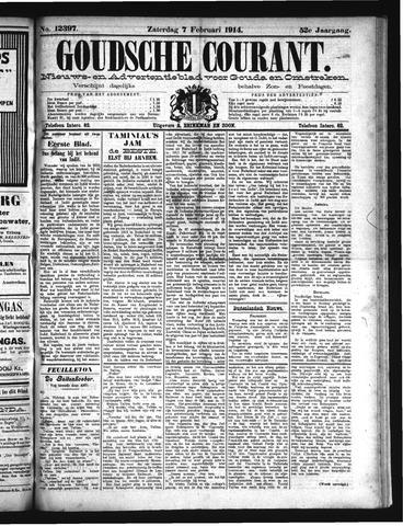 Goudsche Courant 1914-02-07