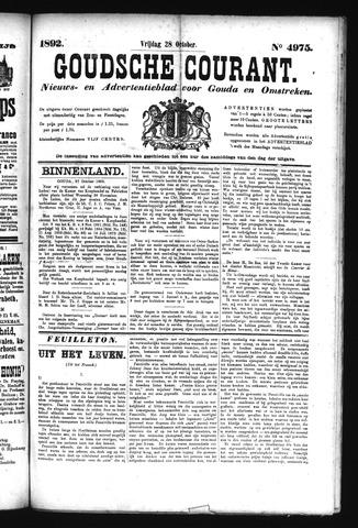 Goudsche Courant 1892-10-28