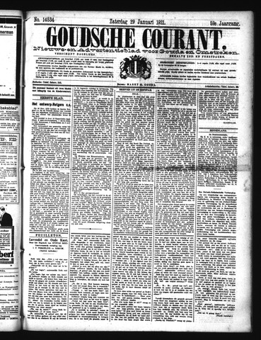 Goudsche Courant 1921-01-29