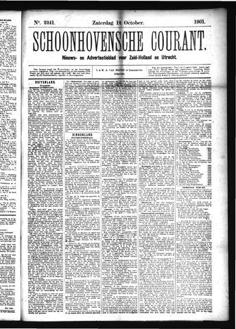 Schoonhovensche Courant 1901-10-12
