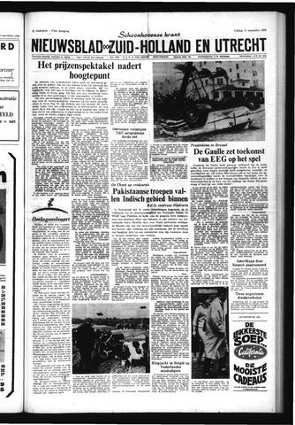 Schoonhovensche Courant 1965-09-10