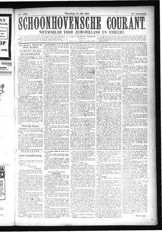 Schoonhovensche Courant 1925-07-13