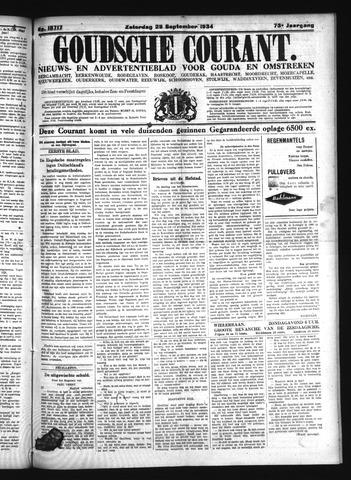 Goudsche Courant 1934-09-29