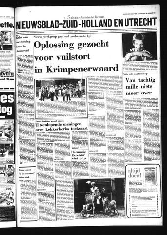 Schoonhovensche Courant 1975-06-23