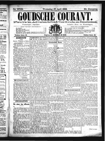Goudsche Courant 1912-04-17