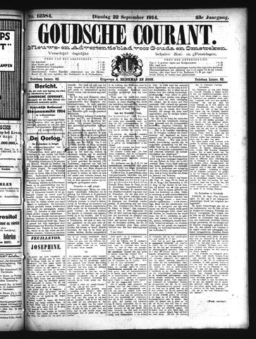 Goudsche Courant 1914-09-22