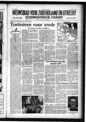 Schoonhovensche Courant 1958-07-16