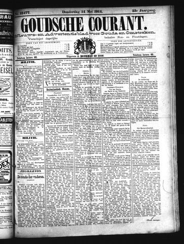 Goudsche Courant 1914-05-14