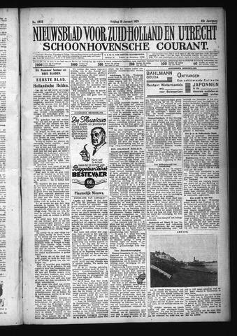Schoonhovensche Courant 1929-01-18