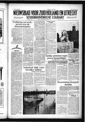Schoonhovensche Courant 1956-03-07