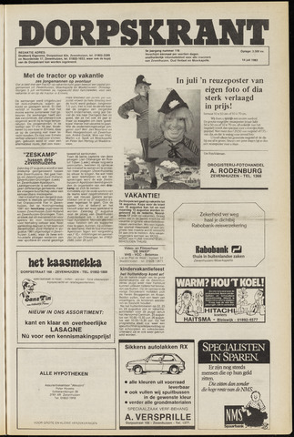 Dorpskrant 1983-07-14