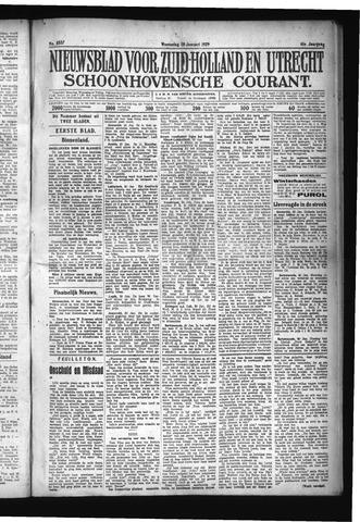 Schoonhovensche Courant 1929-01-30