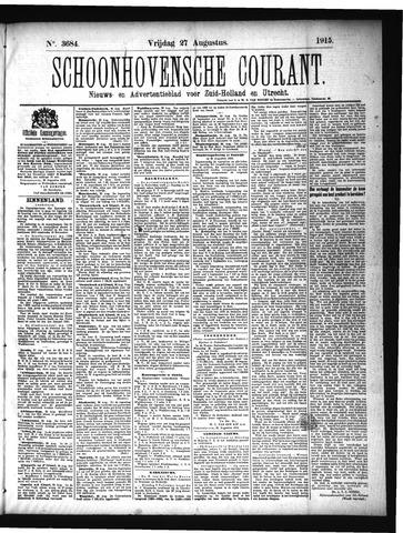 Schoonhovensche Courant 1915-08-27