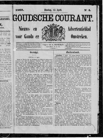 Goudsche Courant 1862-04-13