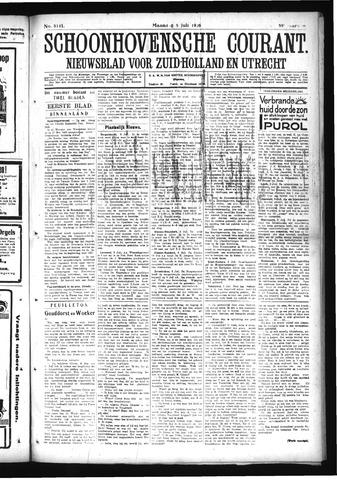 Schoonhovensche Courant 1926-07-05