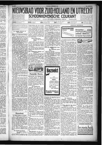 Schoonhovensche Courant 1931-11-06