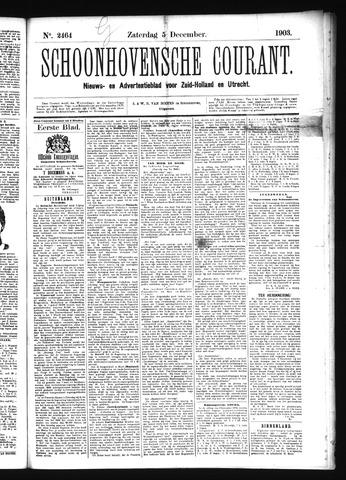 Schoonhovensche Courant 1903-12-05