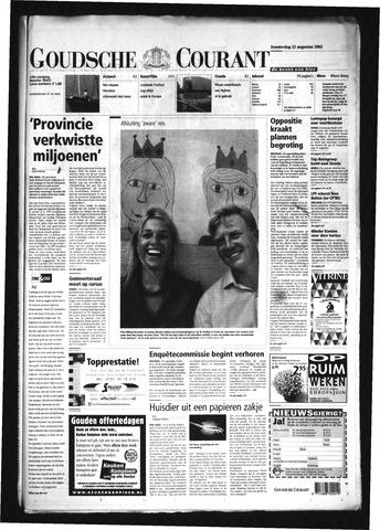 Goudsche Courant 2002-08-22