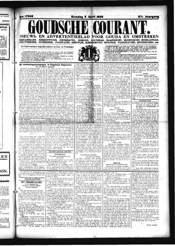 Goudsche Courant 1929-04-09