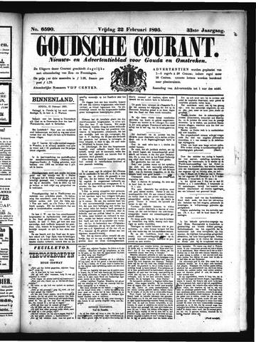 Goudsche Courant 1895-02-22