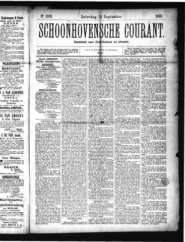 Schoonhovensche Courant 1890-09-13