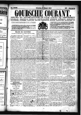 Goudsche Courant 1927-03-15
