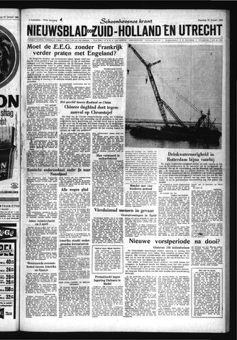 Schoonhovensche Courant 1963-01-28