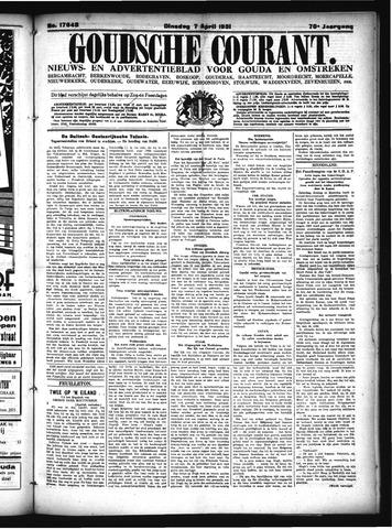 Goudsche Courant 1931-04-07