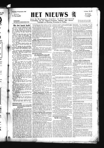 Schoonhovensche Courant 1945-09-17