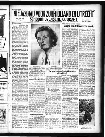 Schoonhovensche Courant 1950-04-28