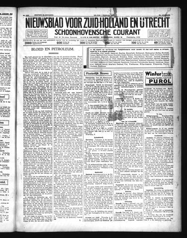 Schoonhovensche Courant 1935-02-01