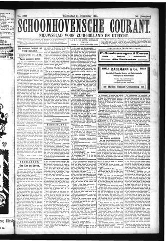 Schoonhovensche Courant 1924-12-24
