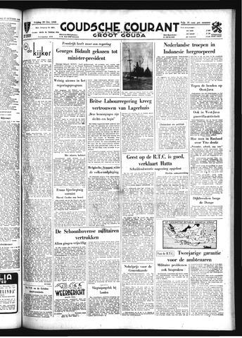 Goudsche Courant 1949-10-28