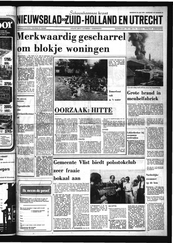 Schoonhovensche Courant 1976-06-28