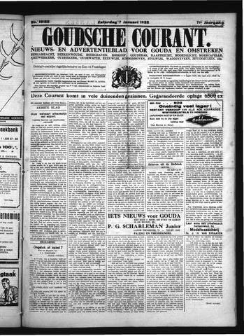 Goudsche Courant 1933-01-07