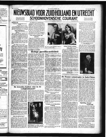 Schoonhovensche Courant 1950-10-30