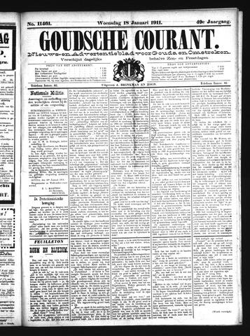 Goudsche Courant 1911-01-18