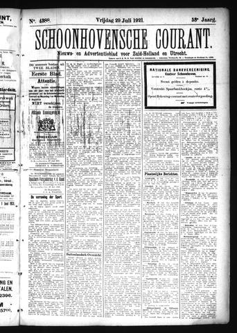 Schoonhovensche Courant 1921-07-29