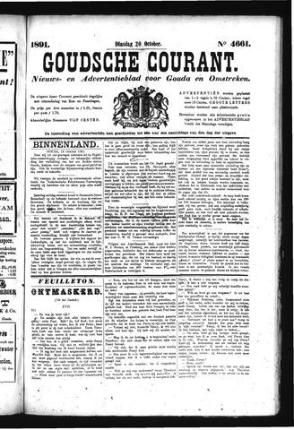 Goudsche Courant 1891-10-20