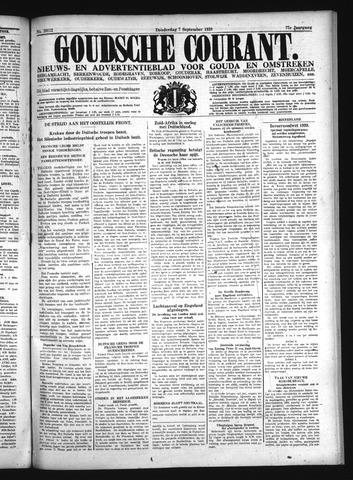 Goudsche Courant 1939-09-07