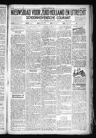 Schoonhovensche Courant 1930-02-26