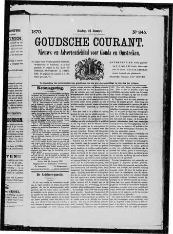 Goudsche Courant 1870-01-23
