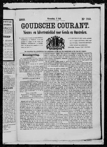 Goudsche Courant 1869-07-07