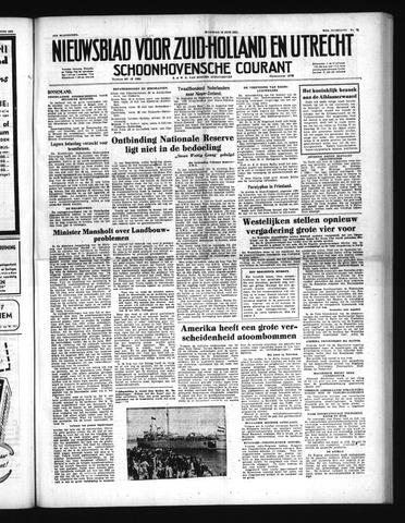 Schoonhovensche Courant 1951-06-18