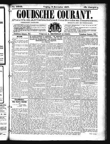 Goudsche Courant 1917-11-09